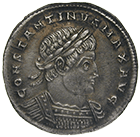 Roman Empire, Constantine I the Great, Light Milaresion (obverse)