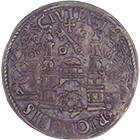 Free and Hanseatic City of Riga, 1/2 Mark (obverse)