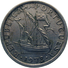 Republic of Portugal, 2,5 Escudos 1973 (obverse)