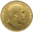 United Kingdom of Great Britain, Edward VII, Sovereign 1908 (obverse)