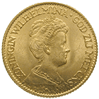 Kingdom of the Netherlands, Wilhelmina, 10 Gulden 1917 (obverse)
