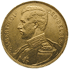 Kingdom of Belgium, Albert I, 20 Francs 1914 (obverse)