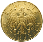 Republic of Austria, 25 Schilling 1931 (obverse)