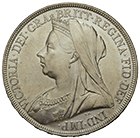 United Kingdom of Great Britain, Victoria, Crown 1896 (obverse)