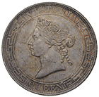 United Kingdom of Great Britain, Victoria  for Hong Kong, 1 Dollar 1867 (obverse)