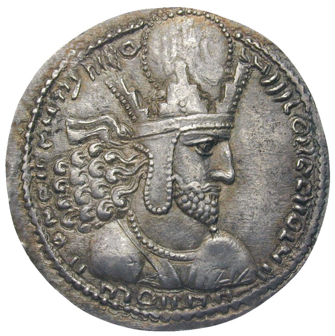sassanid coin