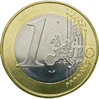 Republic of Austria, 1 Euro 2002 (obverse)