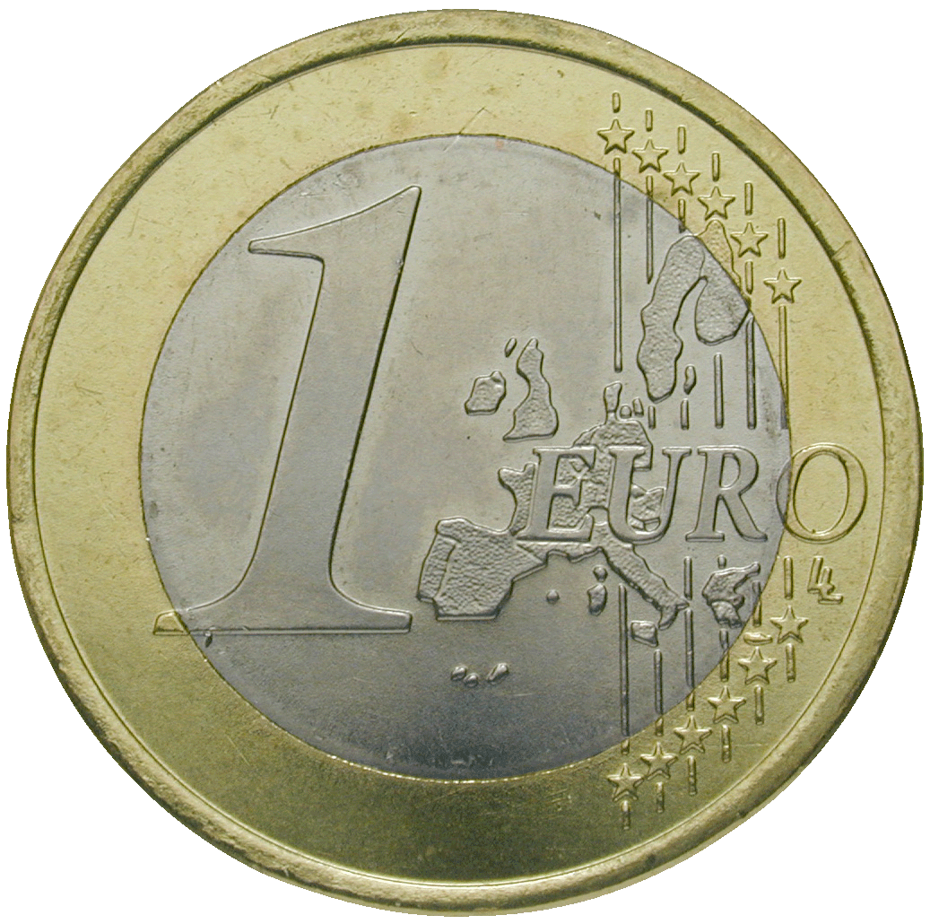 Federal Republic of Germany, 1 Euro 2002 (reverse)