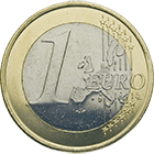 Republic of France, 1 Euro 2000 (obverse)