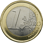 Republic of Portugal, 1 Euro 2002 (obverse)