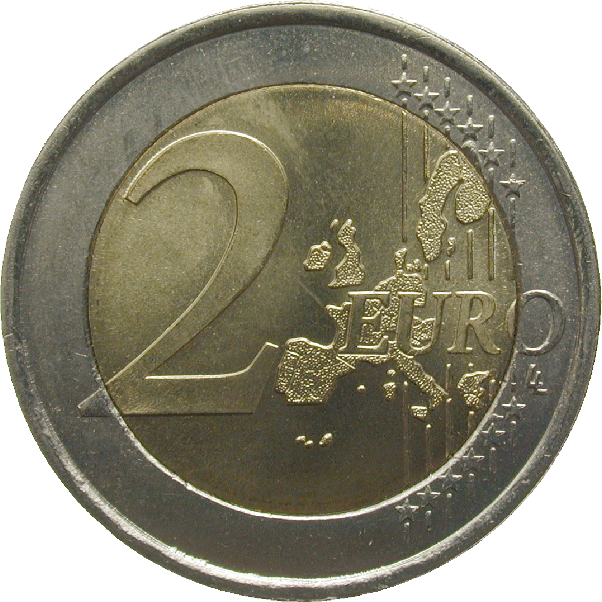 Republik Portugal, 2 Euro 2002 (obverse)