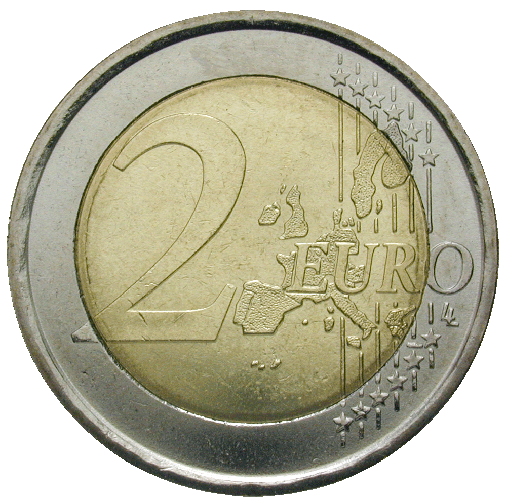 Republic of Italy, 2 Euro 2002 (reverse)