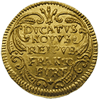 Holy Roman Empire, Free City of Frankfurt on the Main, Ducat 1658 (obverse)
