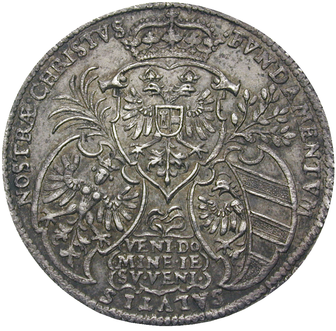 Holy Roman Empire, City of Nürnberg, Silver Medal to the Meat Bridge (obverse)
