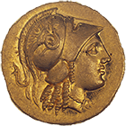 Kingdom of Macedonia, Alexander III, Stater (obverse)