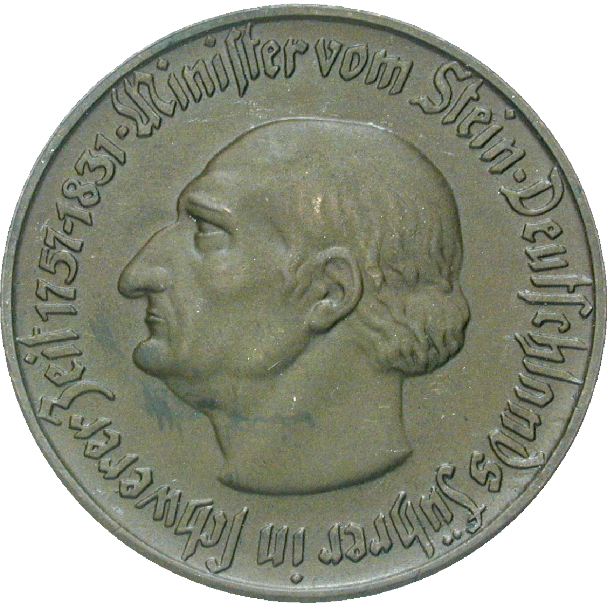 German Reich, Weimar Republic, Province of Westphalia, Emergency Issue 5 Mark 1921 (obverse)