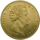 Kingdom of Denmark, Christian VIII, 2 Christian d'or 1847 (obverse)