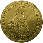 Kingdom of Sweden, Gustav II Adolf, Ducat 1632 (obverse)