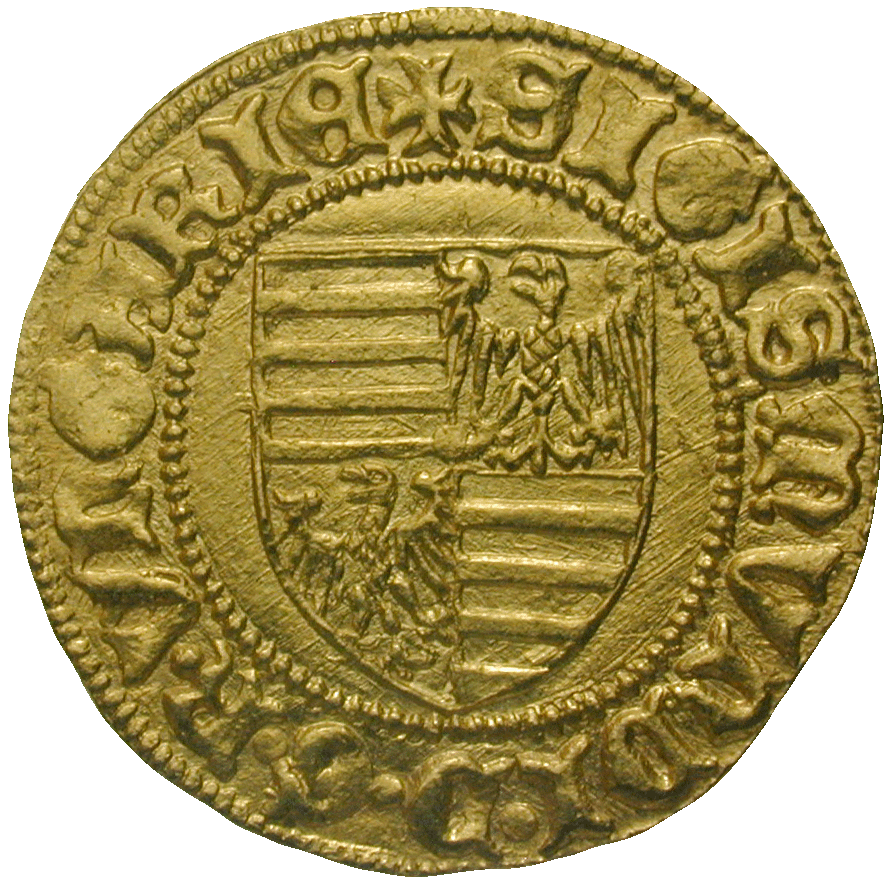 Kingdom of Hungary, Sigismund of Luxemburg, Florint (obverse)
