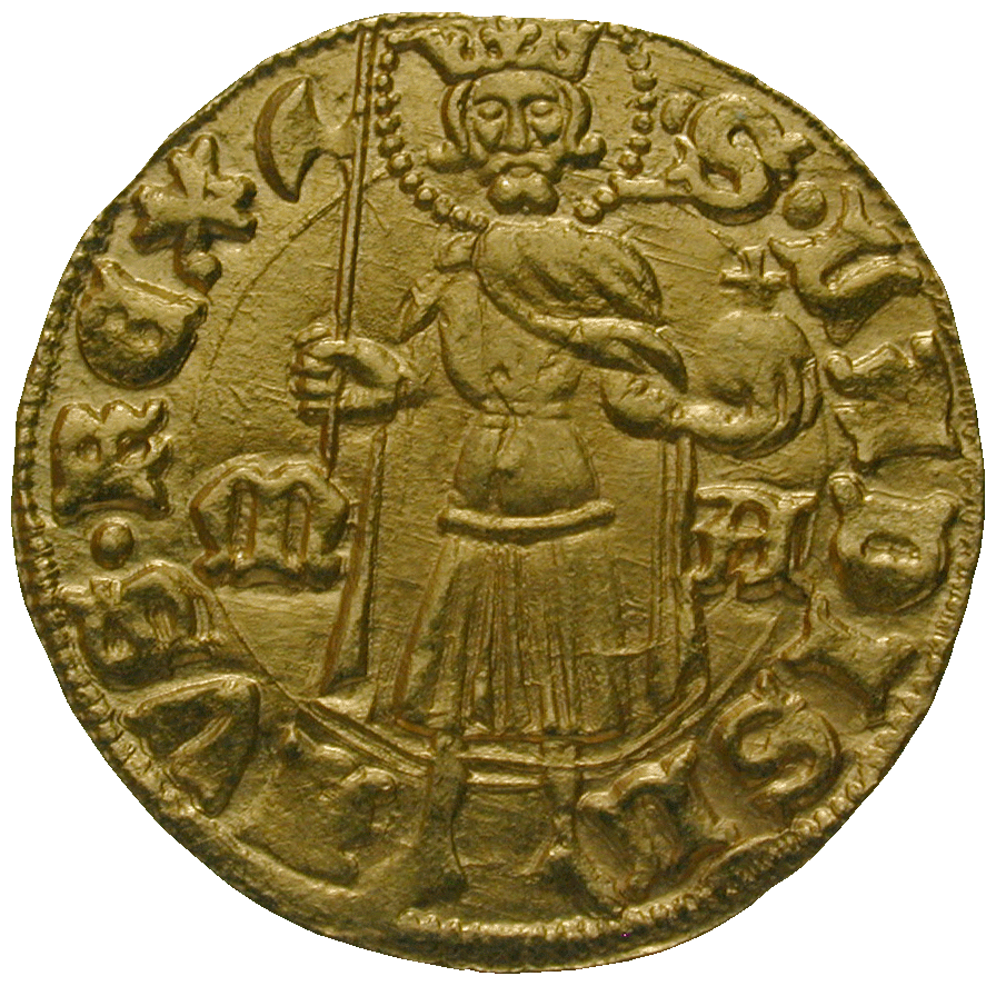 Kingdom of Hungary, Sigismund of Luxemburg, Florint (reverse)