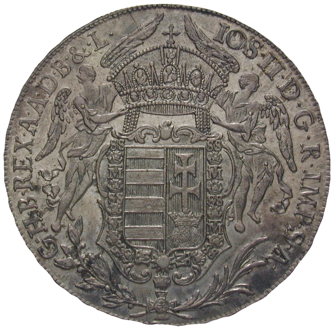 Holy Roman Empire, Kingdom of Hungary, Joseph II, Taler 1783 (obverse)