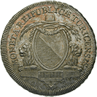 Republic of Zurich, 1/2 Taler 1798 (obverse)