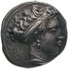 Southern Italy, Campania, City of Neapolis, Stater (obverse)
