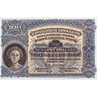 Swiss Confederation, 100 Francs (2nd Banknote Series, in Circulation 1911-1980) (obverse)