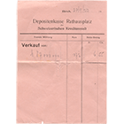 Swiss Confederation, Receipt over 87 Million Mark (obverse)