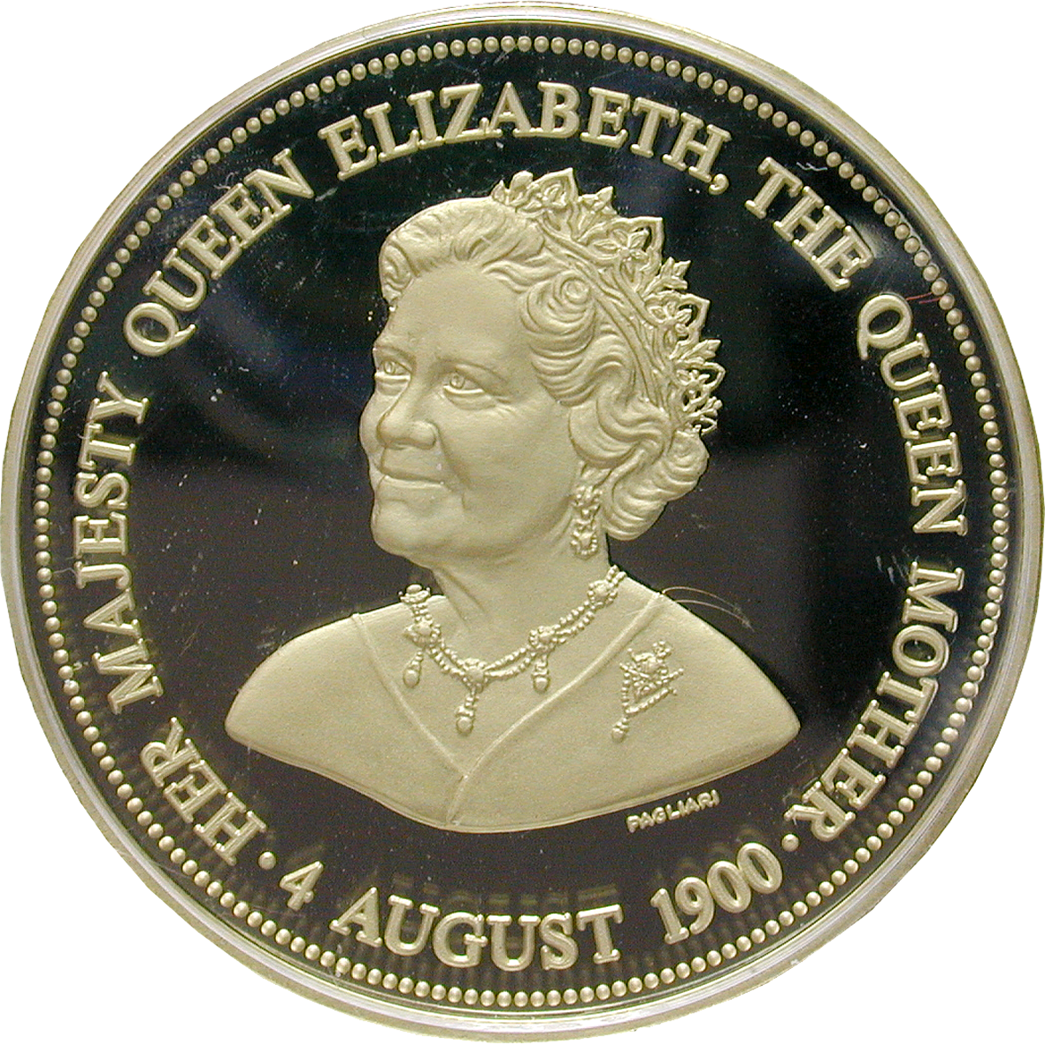 United Kingdom of Great Britain, Medal 1980 (obverse)