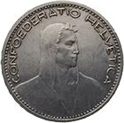 Swiss Confederation, 5 Francs 1923 (obverse)