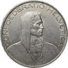 Swiss Confederation, 5 Francs 1925 (obverse)