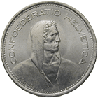 Swiss Confederation, 5 Francs 1968 (obverse)