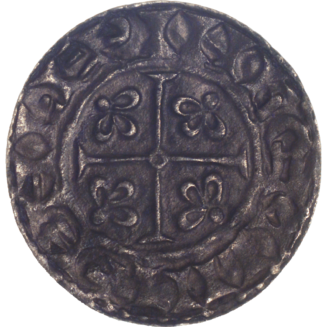 Kingdom of England, William I the Conqueror, Penny (reverse)