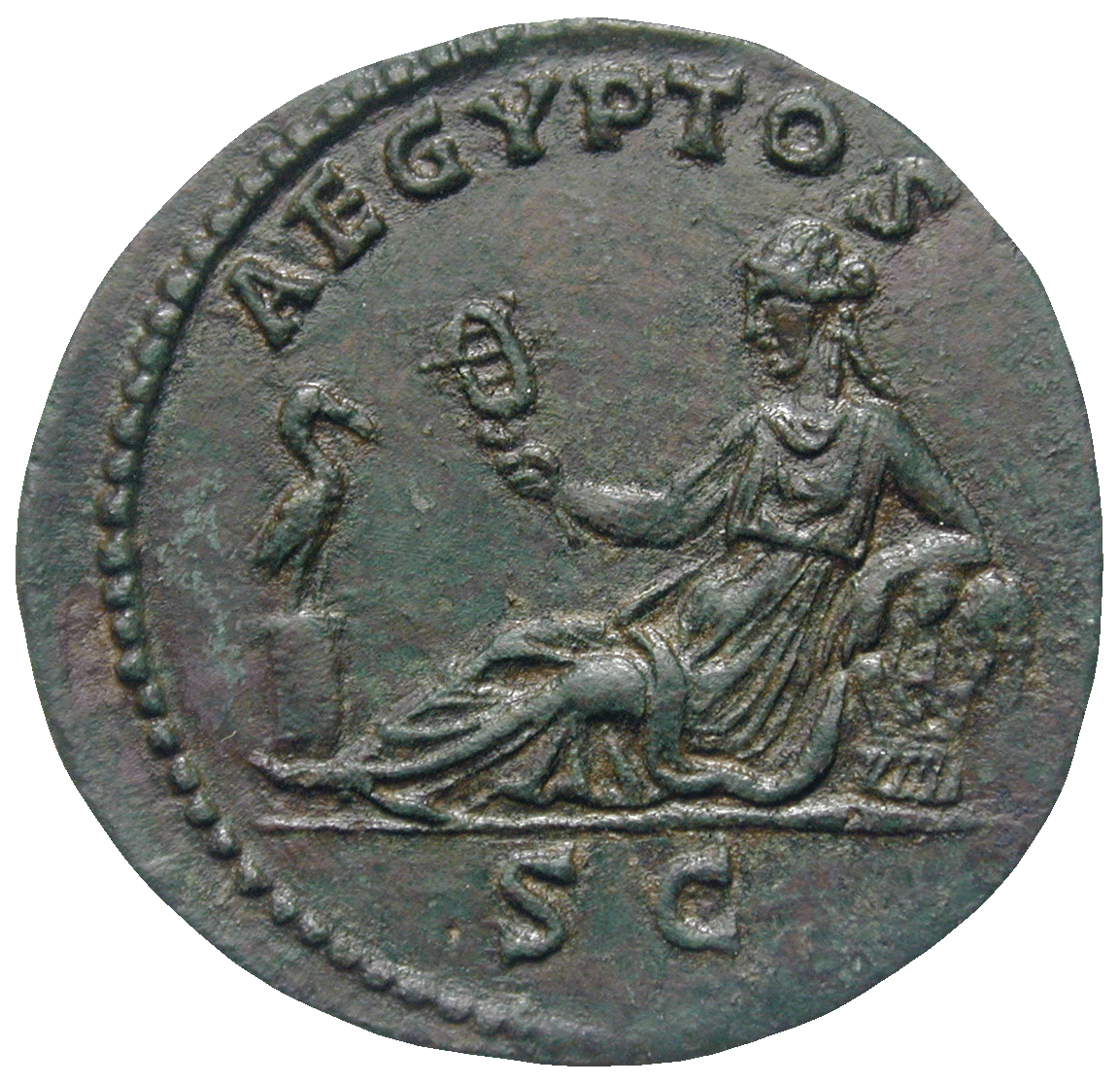 Roman Empire, Hadrian, As (reverse)