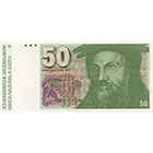Swiss Confederation, 50 Francs (6th Banknote Series, in Circulation 1976-2000) (obverse)