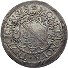 Republic of Zurich, 10 Schillings 1677 (obverse)