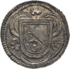 Republic of Zurich, Rappen (obverse)