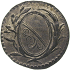 Republic of Zurich, 3 Haller, 18. Jh. (obverse)