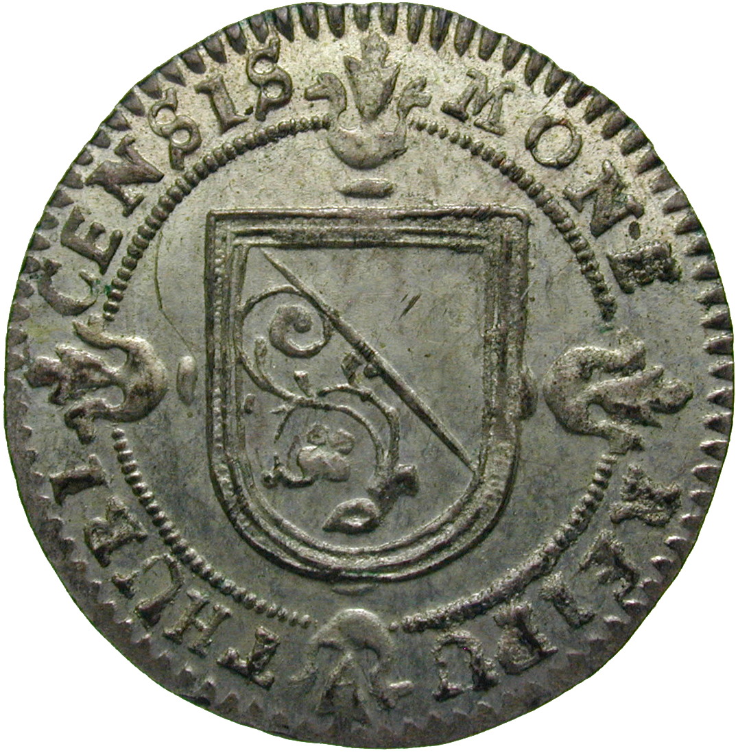 Republic of Zurich, Schilling 1751 (obverse)