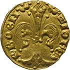 Kingdom of Bohemia, John of Luxemburg, Goldgulden (obverse)
