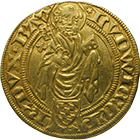 Holy Roman Empire, County Palatine of the Rhine, Louis III, Goldgulden (obverse)