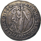 Holy Roman Empire, Kingdom of Bohemia, County of Schlick, Stephan, 1/2 Taler (obverse)