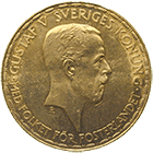 Kingdom of Sweden, Gustav V, 20 Kronor 1925 (obverse)