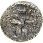 Persian Empire, Achaemenids, Darius I the Great, 1/6 (?) Siglos (obverse)