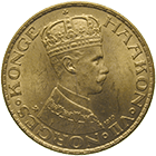 Kingdom of Norway, Haakoon VII, 20 Kronor 1910 (obverse)