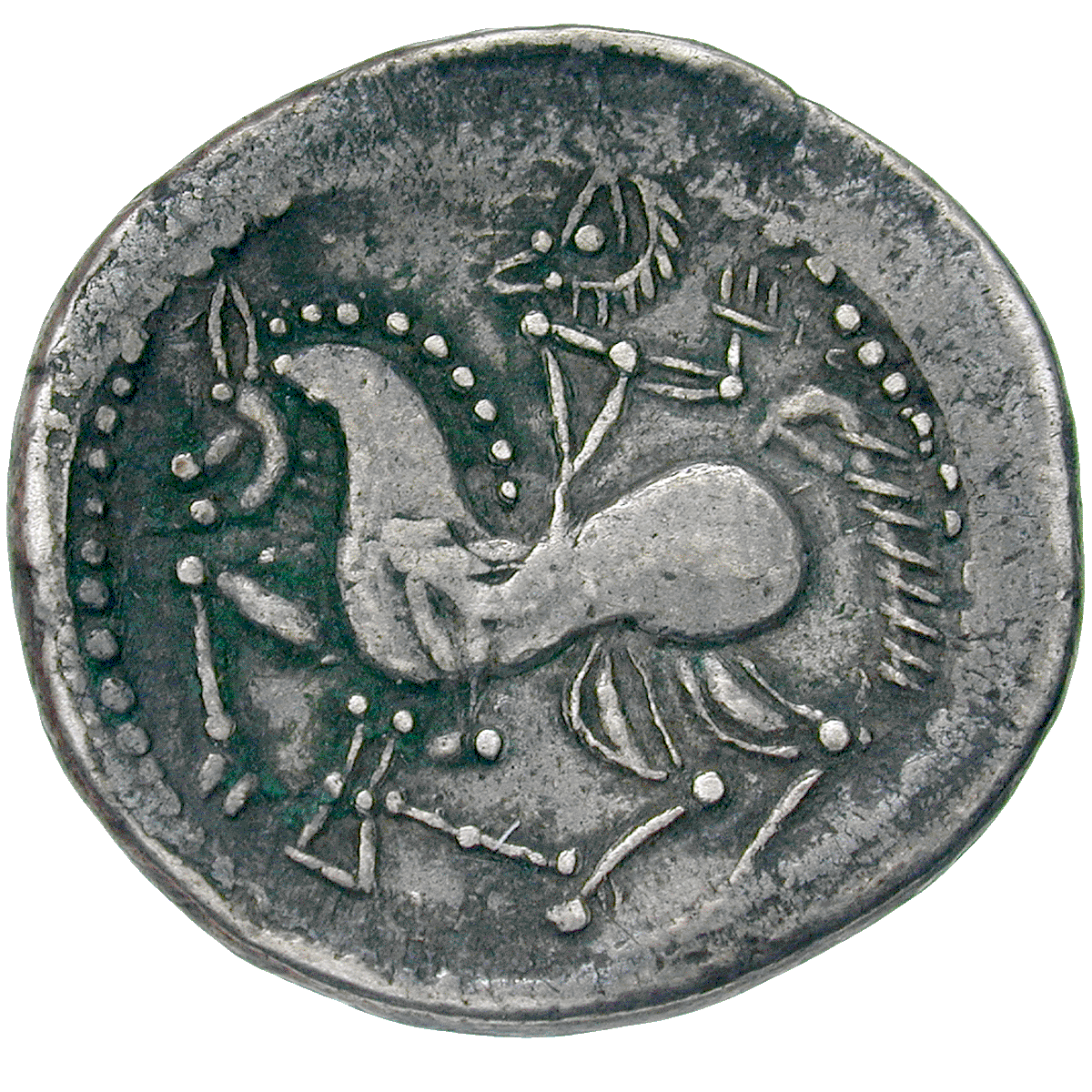 Eastern Celtic Tribe, Tetradrachm (reverse)