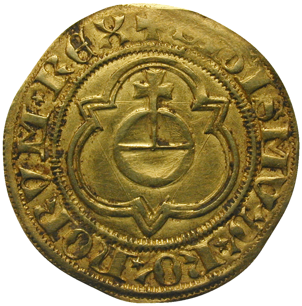 Holy Roman Empire, Sigismund of Luxemburg, Goldgulden (obverse)
