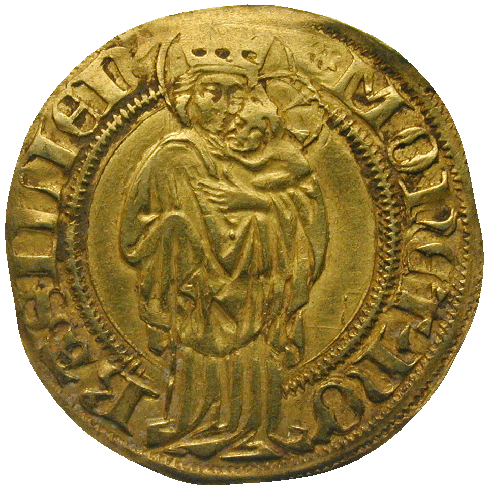 Holy Roman Empire, Sigismund of Luxemburg, Goldgulden (reverse)
