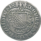 Holy Roman Empire, City of Zurich, Batzen 1519 (obverse)